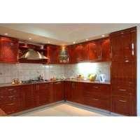 V Shaped Modular Kitchen Manufacturers