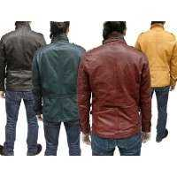 Goat Leather Jacket Manufacturers