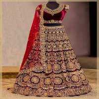 Embroidered Bridal Lehengas Manufacturers