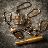 Brass Key Chains Manufacturers