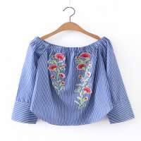 Embroidered Blouses Manufacturers