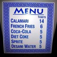 菜单标志 制造商