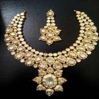 钻石Polki项链套装 制造商