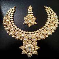 Diamond Polki Necklace Set Manufacturers