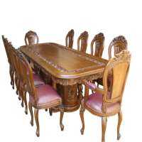 Carved Wood Dining Table Manufacturers