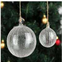 圣诞节玻璃装饰品 制造商
