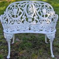 Iron Garden Bench Manufacturers