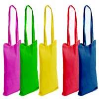Coloured Cotton Bags Manufacturers