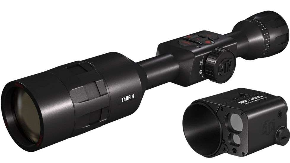 ATN ThOR 4, 640x480 Sensor, 4-40x Thermal Smart HD Rifle