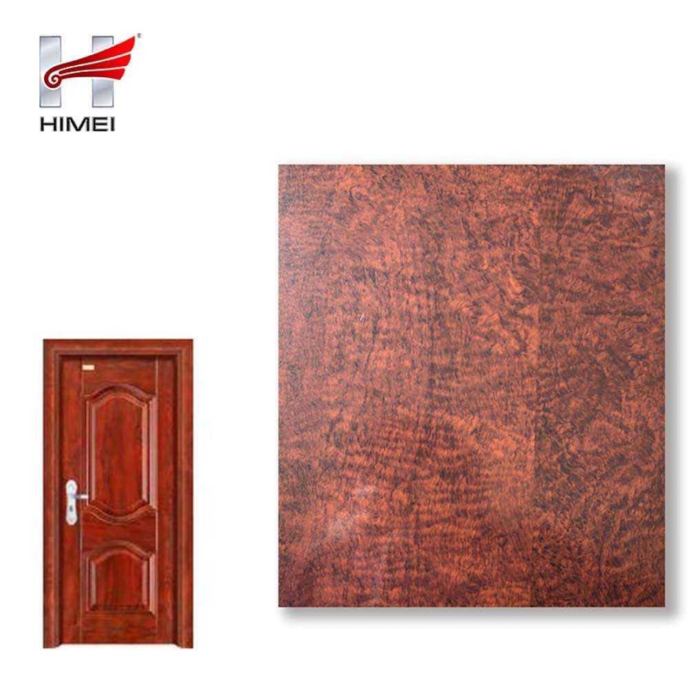 Wood Color Galvanized Steel Sheet For Door