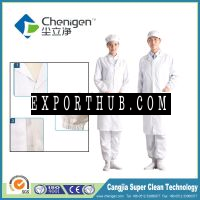 Cleanroom esd apparel unlined long gown