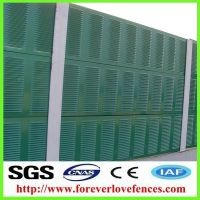 galvanized steel soundproof highway acoustic panel noise barrier road barrier