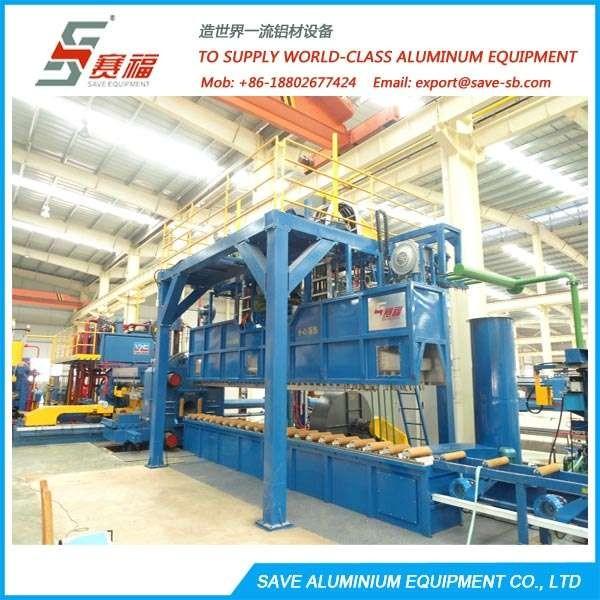 Aluminium Extrusion Profile Convertible Air Quench Table