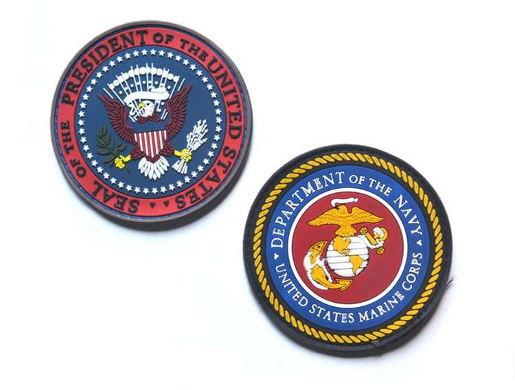 customized school uniform woven badges