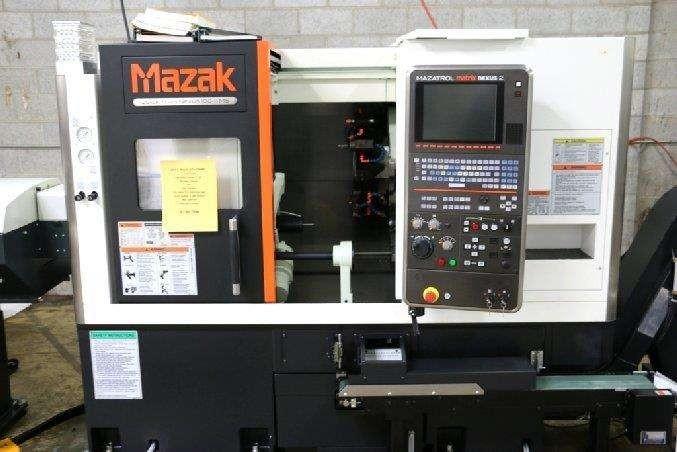 2013 MAZAK-QT-100MS (CNC Milling Machine)