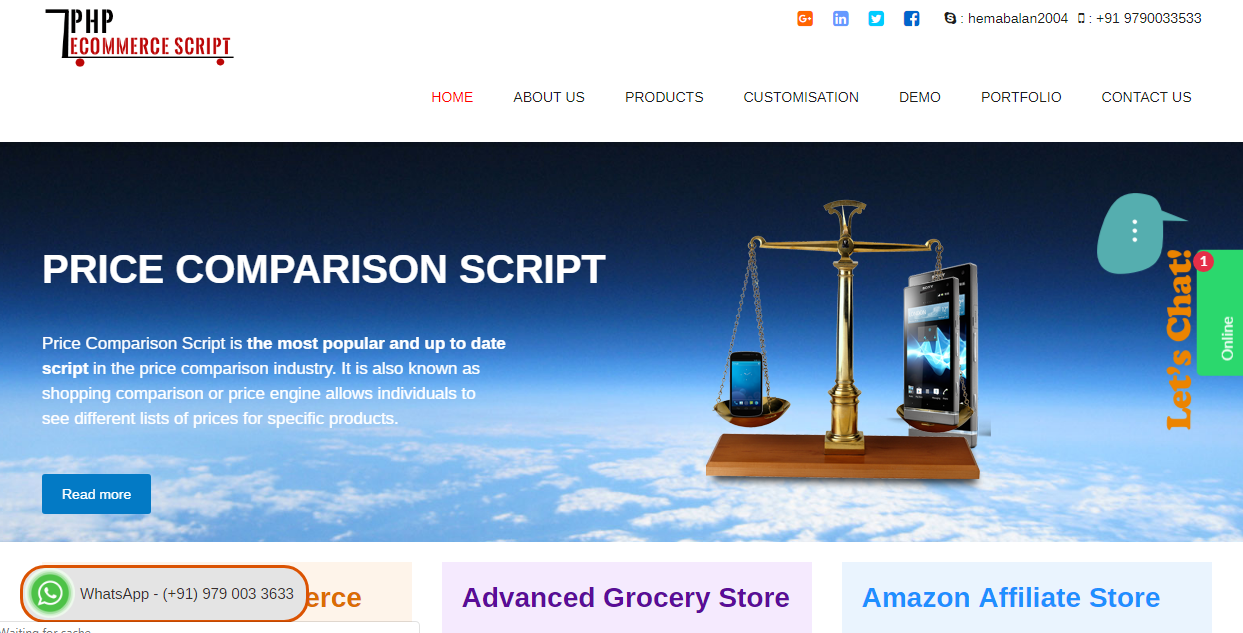 PHP Ecommerce Script   Ecommerce Software   Packages