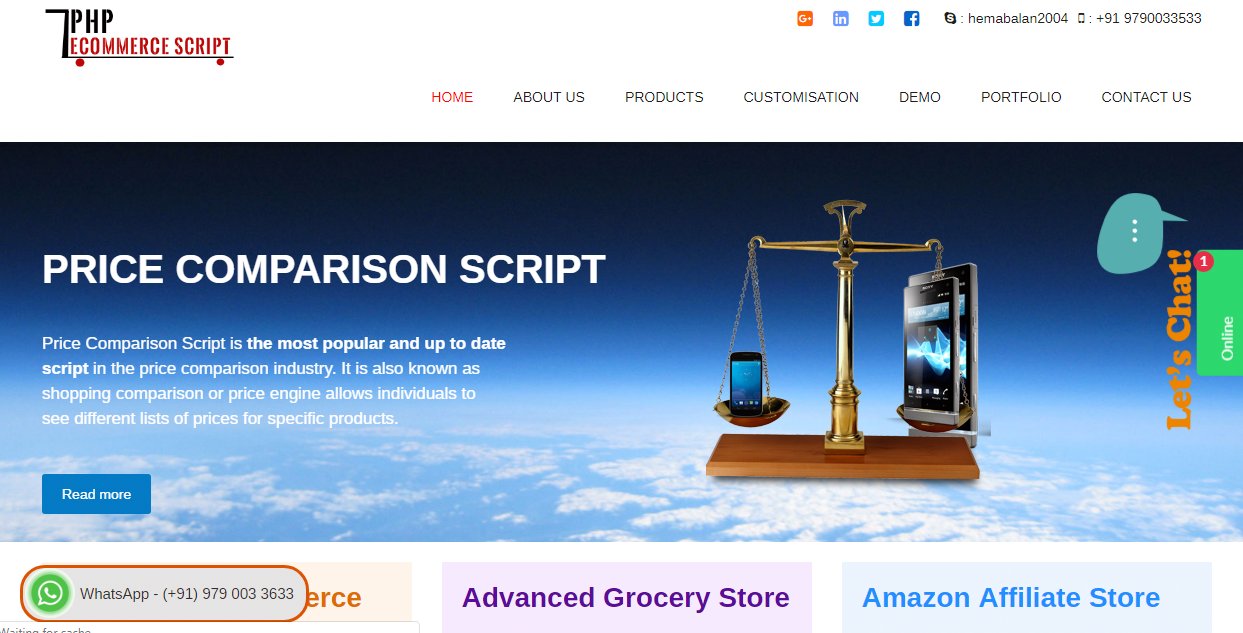 PHP Ecommerce Script | Ecommerce Software | Packages