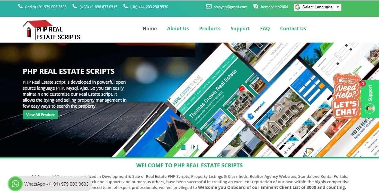 Real Estate Script   Real Estate Listing Software