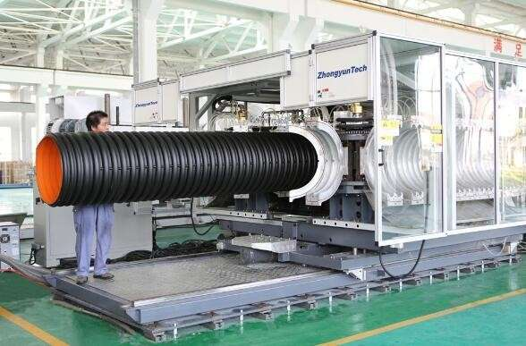 Double Wall Corrugated Pipe High Speed Production Line