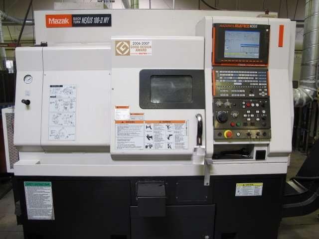 2008 MAZAK-QT-NEXUS-100MY (Milling Machine)