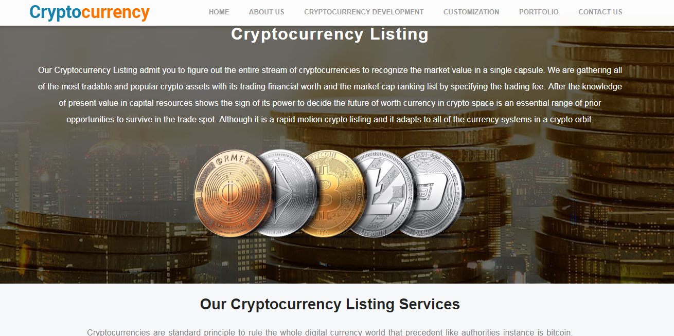 Crypto Coin Listing Consultant India - ICO Listing Service Company