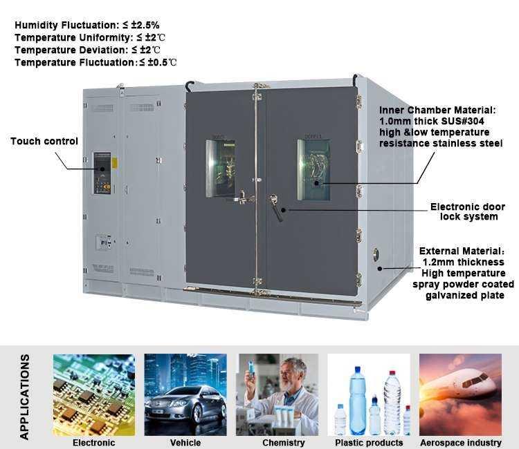步入式温湿度气候环境箱柜