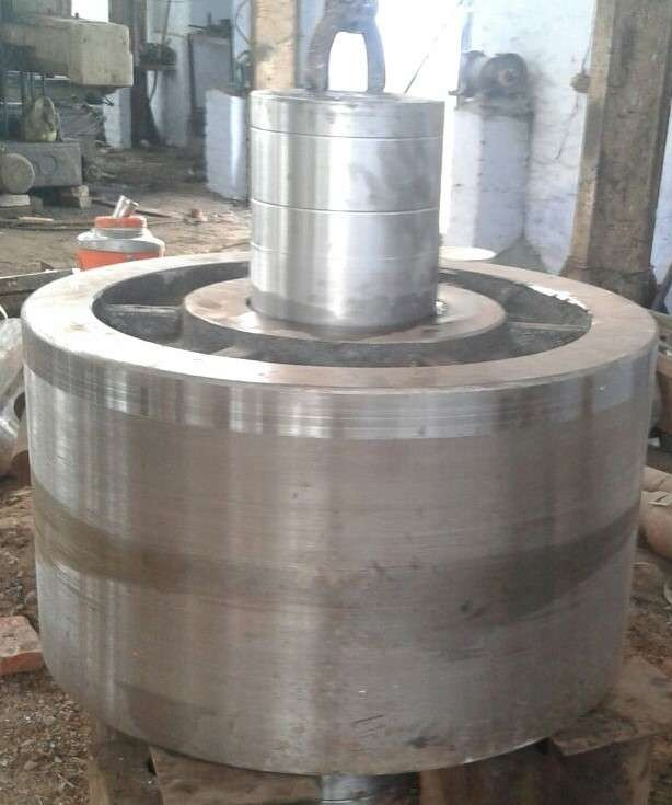 Kiln Support Roller Assembly Large Casting And Forging