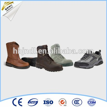 Industrial Leather Safety Shoes insulated rubber boots