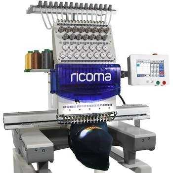 For RiCOMA 15 Needle Single Head Embroidery Free Shipping