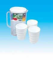 Plastic Water Kettle Cup S7802