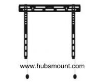 fixed TV wall mount low profile and HWF1644