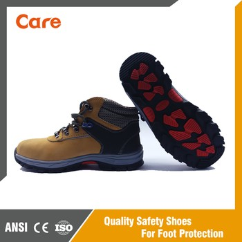 Industrial Leather Safety Shoes CE Certificate