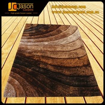 modern design polyester 3D shaggy carpet