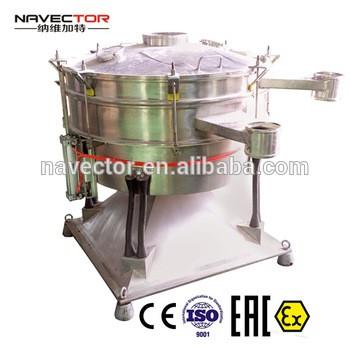 Navector ayurvedic herbs vibrating sieveNavector sifter screen