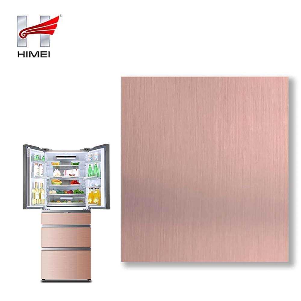 Pink VCM Film Lamination Steel Sheet For Refrigerator