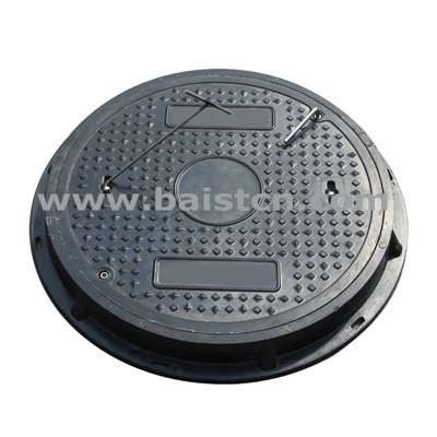 SMC Sewer Cover Circle Type 600mm With High Quality And Corrosion Resistance
