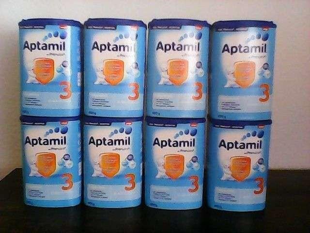 出售Aptamil金1,2,3,4,5,1+和2+婴儿奶粉