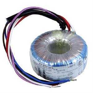24-0-24 Toroidal Transformer With Low Profile And Low Weight