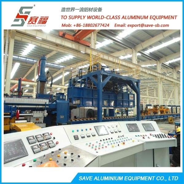 Aluminium Extrusion Profile Convertible Water Quench Table