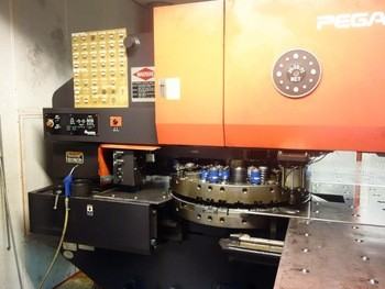 Amada Pega 357 CNC TURRET PUNCH PRESS From JR Machines Ltd
