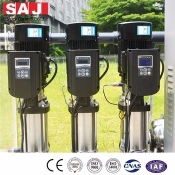 AC drive controller system for pump