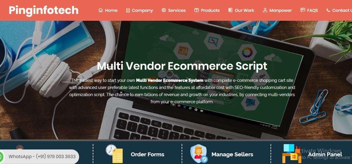 Multi seller ecommerce platform