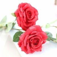 artificial silk rose decorative rose flowers home and party
