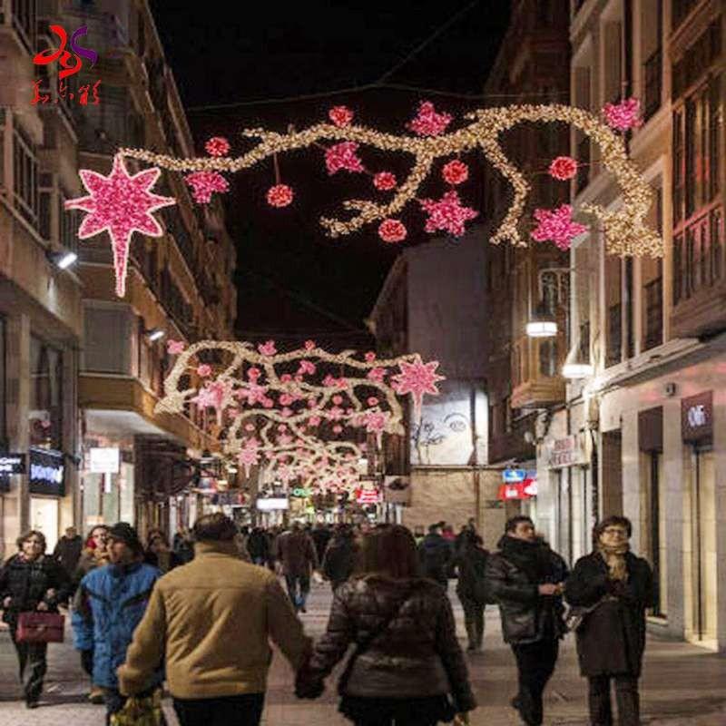 圣诞街主题灯