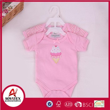 organic cotton baby clothes newborn knitted baby bodysuits rompers