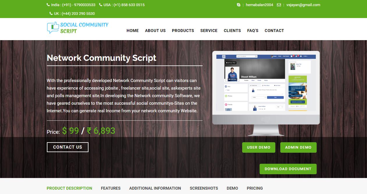 Social Community PHP Script   Open Source Social Network Community