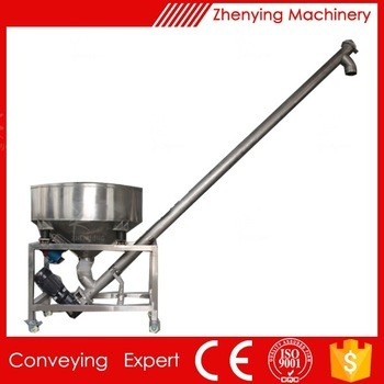 Stainless Steel Flexible Screw Conveyor Auger Conveyor Malt