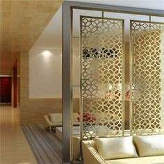 stainless steel metal room partition