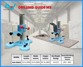 DRILLING GUIDE M3 AUSAVINA Drilling Tools Stone Tools Granite Equipment Drilling Guide