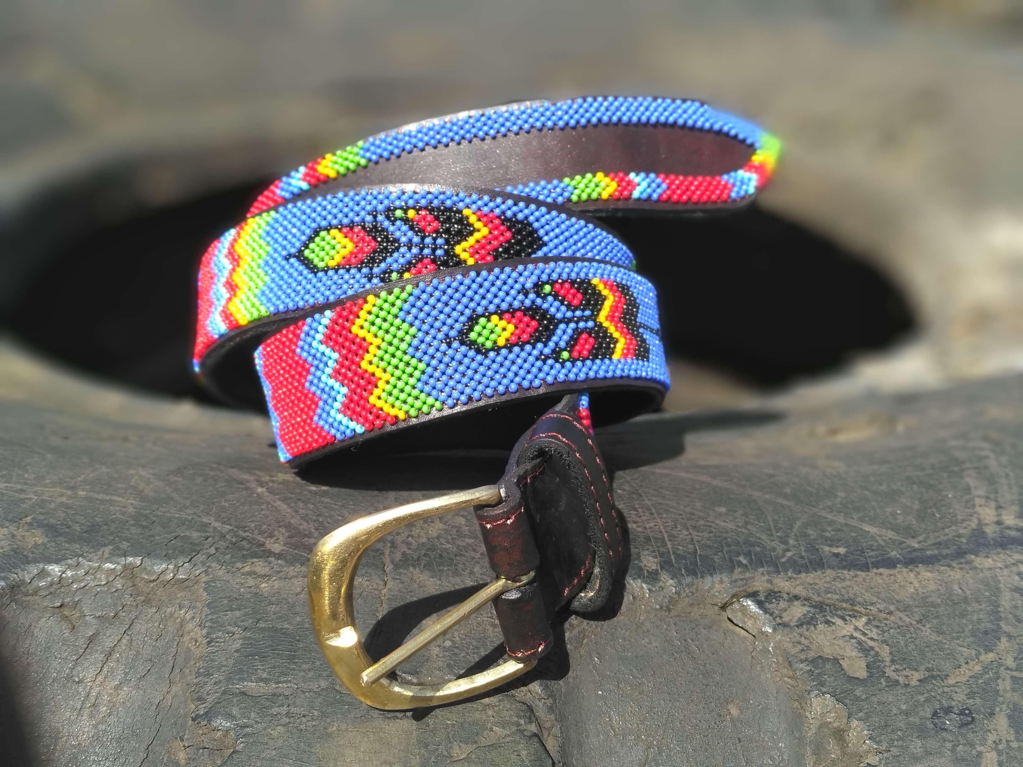 Maasai Leather Belt